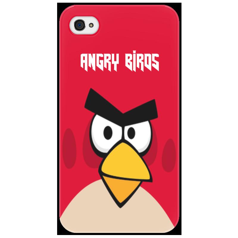 Чехол для iPhone 4/4S Printio Angry birds (terence) ледянки 1 toy angry birds 94 см т56333
