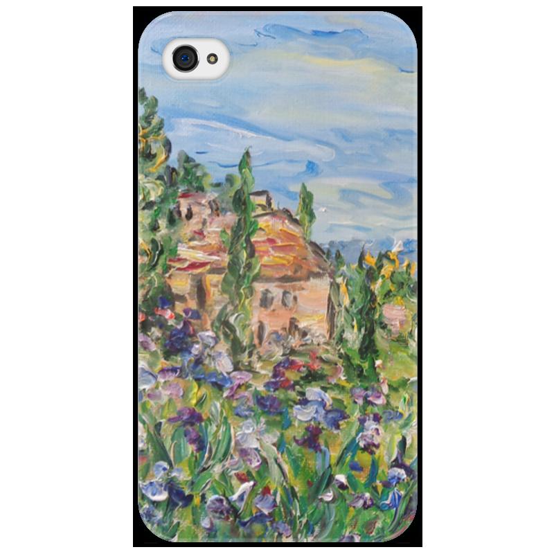 Чехол для iPhone 4/4S Printio Тоскана стоимость