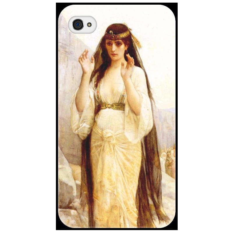 Чехол для iPhone 4/4S Printio Дочь иеффая (картина кабанеля) цена