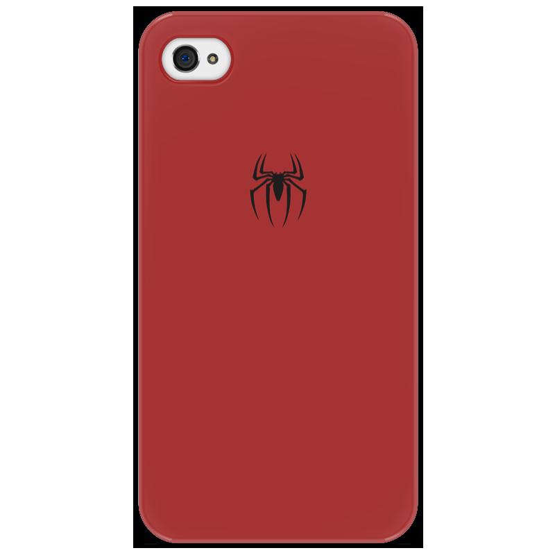 Чехол для iPhone 4/4S Printio Человек-паук айфон 4s 8 гб дешево в москве белый