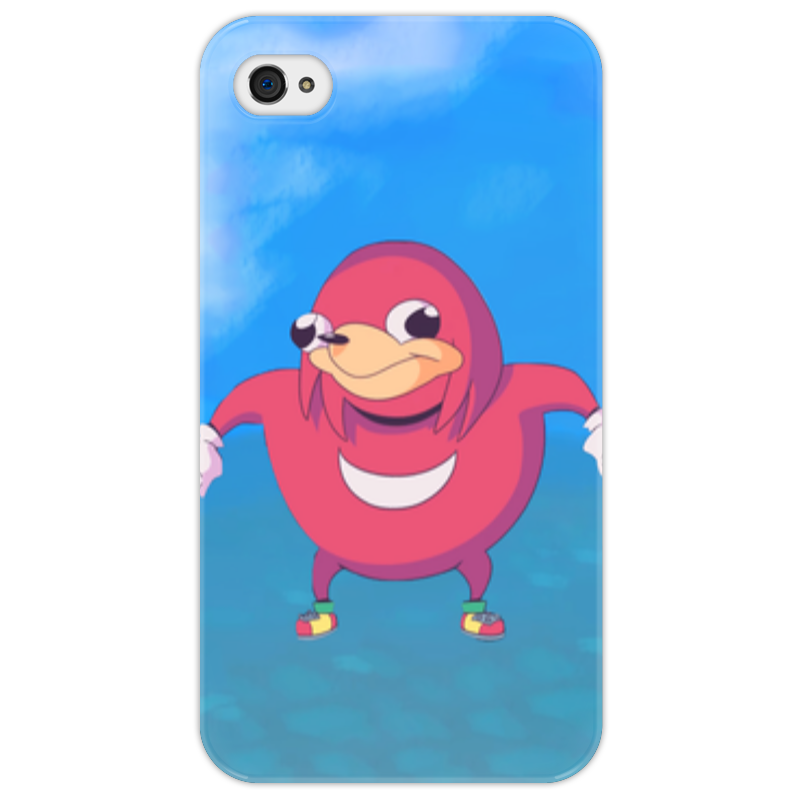 Чехол для iPhone 4/4S Printio Knuckles iphone 4/s чехол для iphone 4 4s printio чехол dokidoki precure