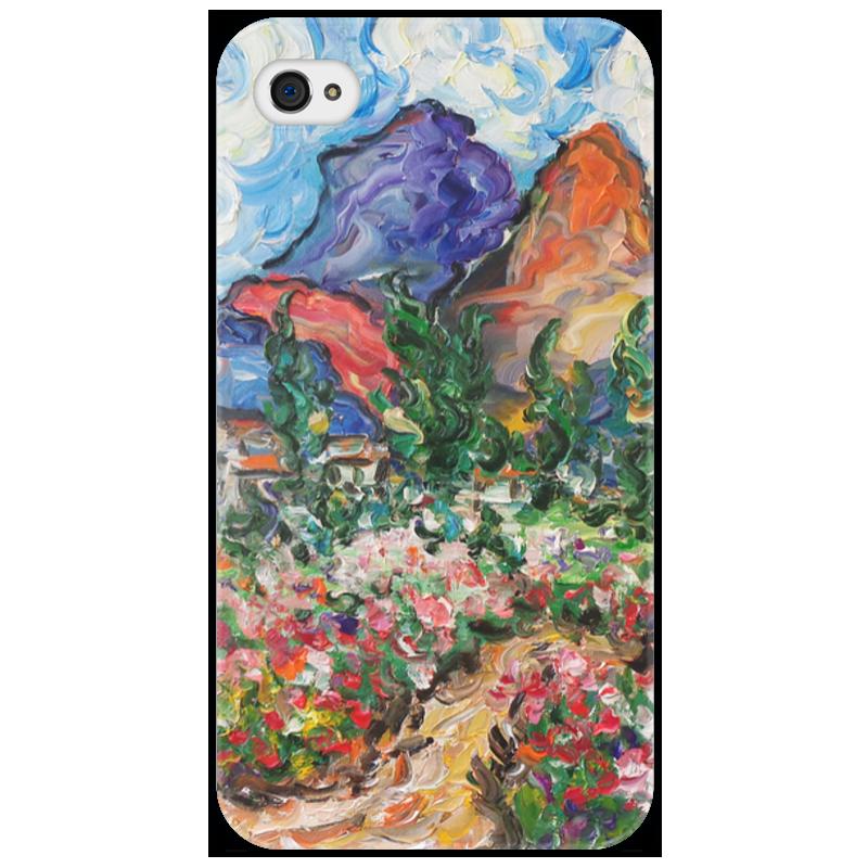 Чехол для iPhone 4/4S Printio Счастье стоимость