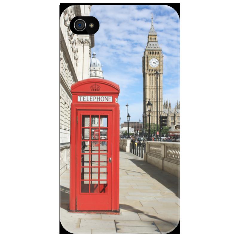 Чехол для iPhone 4/4S Printio London стоимость