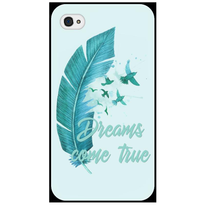Чехол для iPhone 4/4S Printio Dreams come true