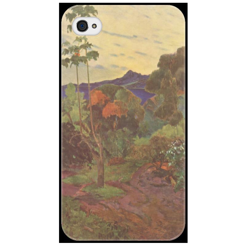 Чехол для iPhone 4/4S Printio Тропические растения