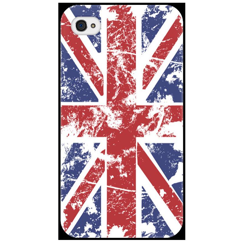 Чехол для iPhone 4/4S Printio Флаг uk стоимость