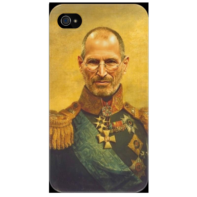Чехол для iPhone 4/4S Printio Steve jobs чехол для iphone 4 4s printio чехол dokidoki precure