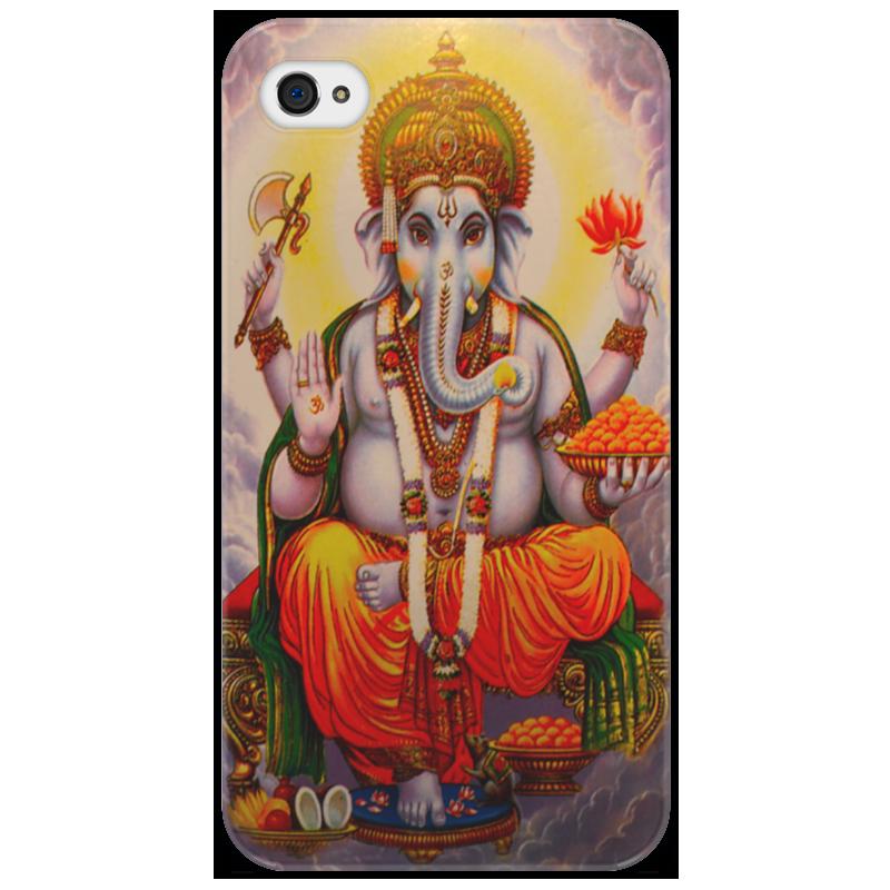 Чехол для iPhone 4/4S Printio Ganesh ganesh kumar t sustainable vermicomposting of salvinia molesta mitchell