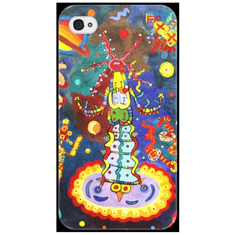 цены Чехол для iPhone 4/4S Printio Космический арт