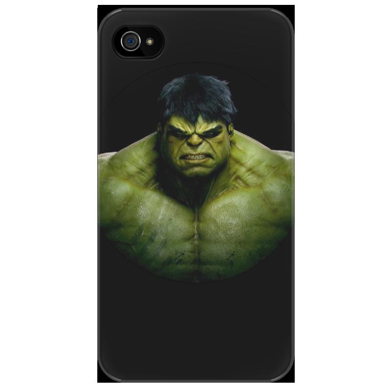 Чехол для iPhone 4/4S Printio *hulk* мишель бюсси пока ты не спишь