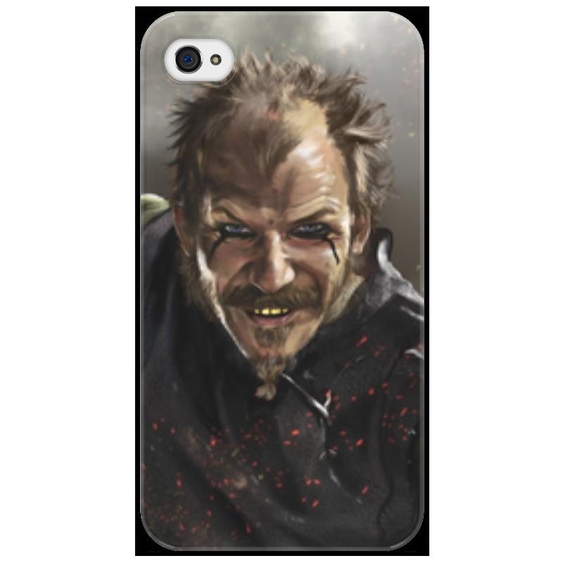 Чехол для iPhone 4/4S Printio Викинги. флоки. викинги