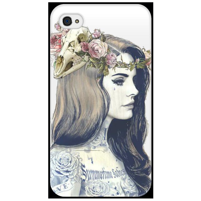 Чехол для iPhone 4/4S Printio Art девушка