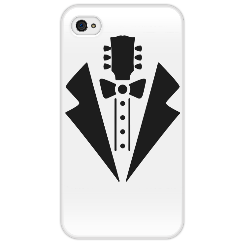 Чехол для iPhone 4/4S Printio Гитара-галстук