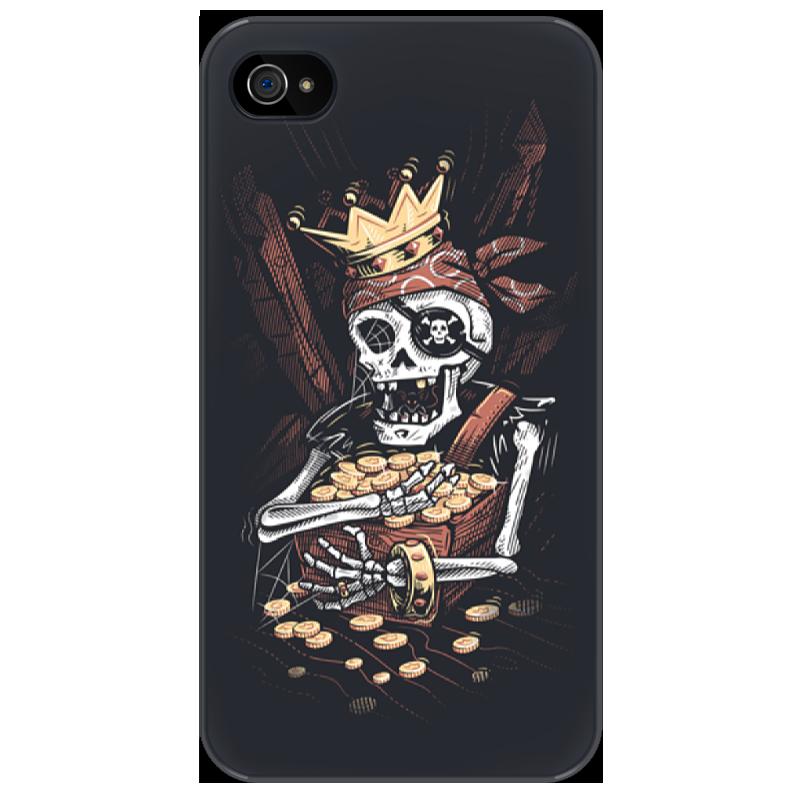Чехол для iPhone 4/4S Printio Пират чехол