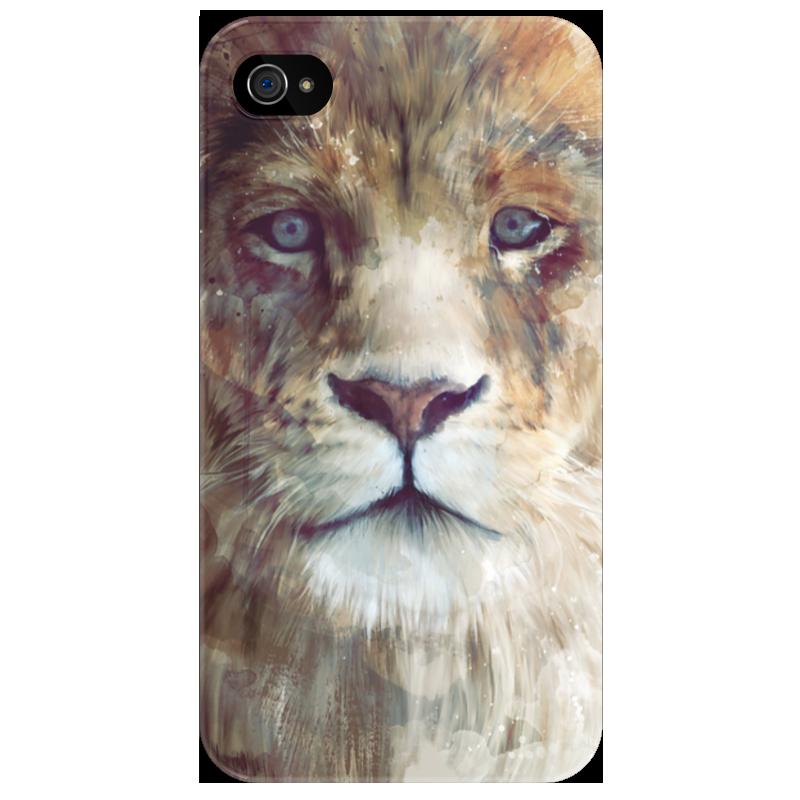 Чехол для iPhone 4/4S Printio Царь зверей чехол для iphone 4 4s printio чехол dokidoki precure
