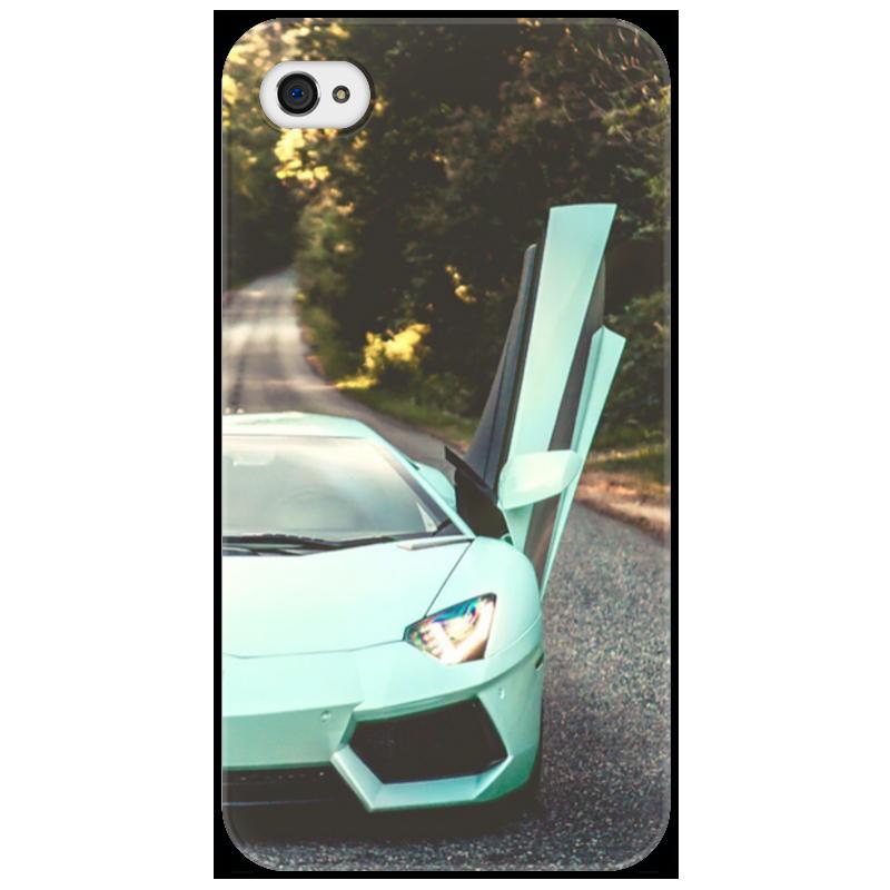 Чехол для iPhone 4/4S Printio Lamborghini