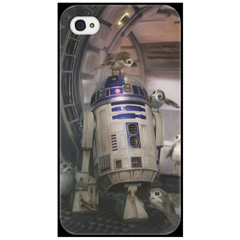 Чехол для iPhone 4/4S Printio Звездные войны - r2-d2 ivue d5004 ahc d2 для дома и офиса 4 2 комплект видеонаблюдения
