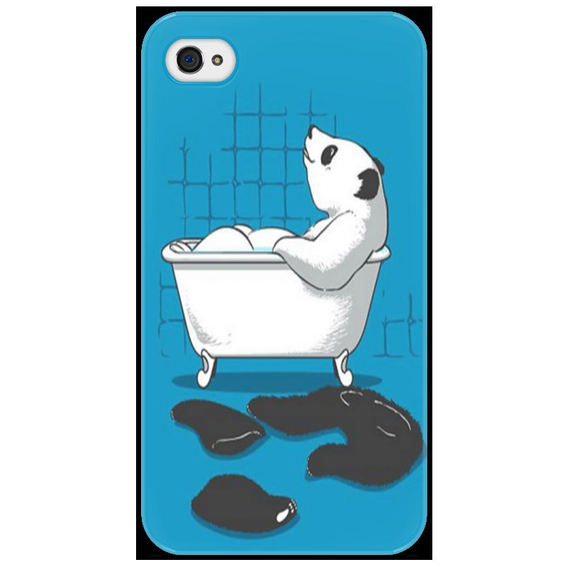 Чехол для iPhone 4/4S Printio Медведь чехол для iphone 4 iphone 4s bb mobile медведь