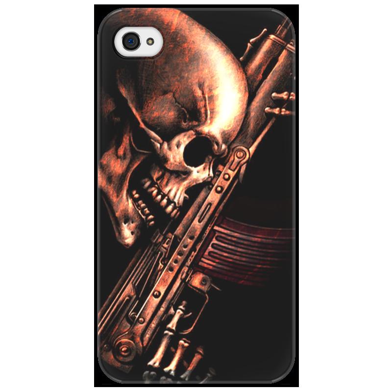 Чехол для iPhone 4/4S Printio До конца!!! sahar cases чехол цветочный принт с леопапдом iphone 4 4s case