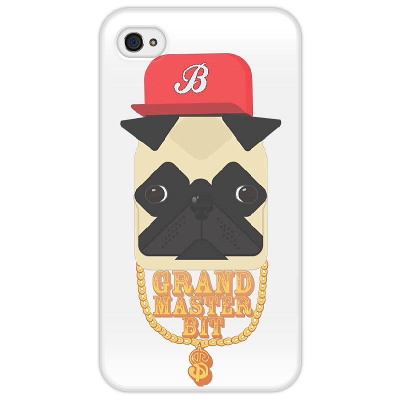 Чехол для iPhone 4/4S Printio Grand master bit