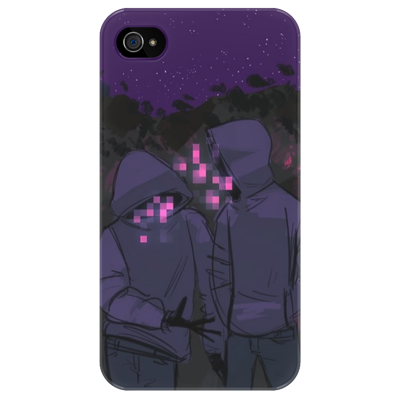 Чехол для iPhone 4/4S Printio Welcome to night vale