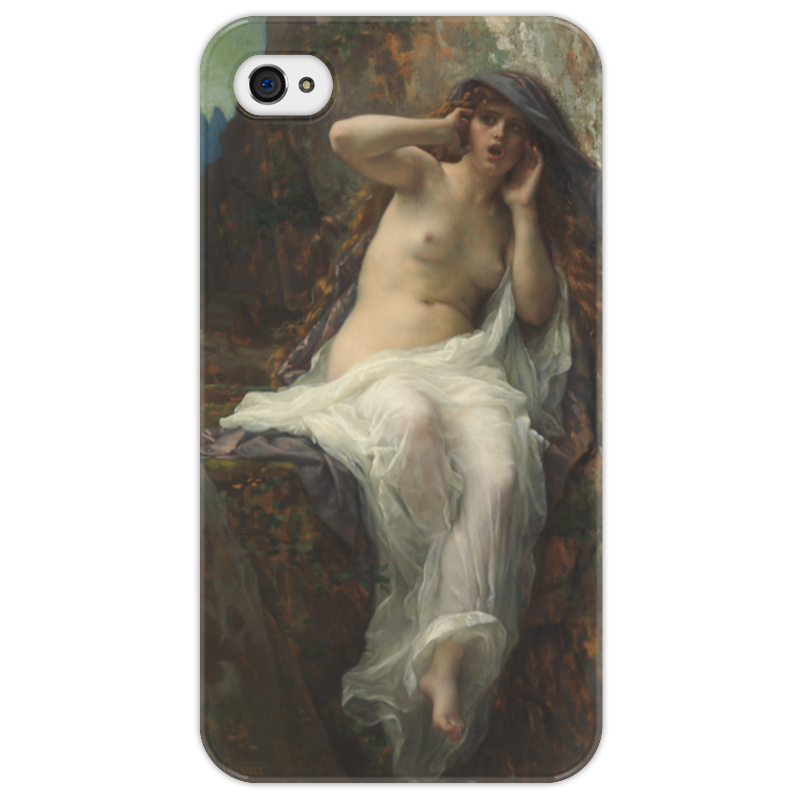 Чехол для iPhone 4/4S Printio Эхо (картина кабанеля) амаяк tер абрамянц эхо армении