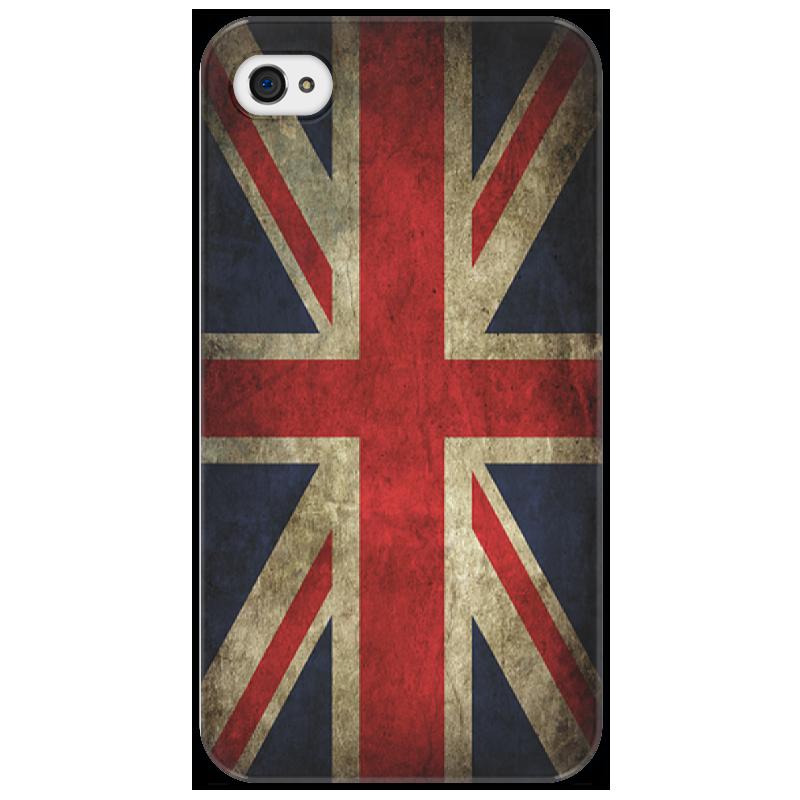 Чехол для iPhone 4/4S Printio Британский флаг в стиле гранж стоимость