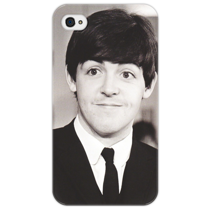Чехол для iPhone 4/4S Printio Beatles чехол для iphone 4 бамбук