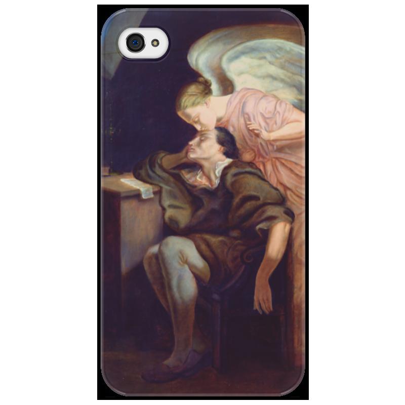 Чехол для iPhone 4/4S Printio Поцелуй музы музы вдохновившие мир прозрачный супер