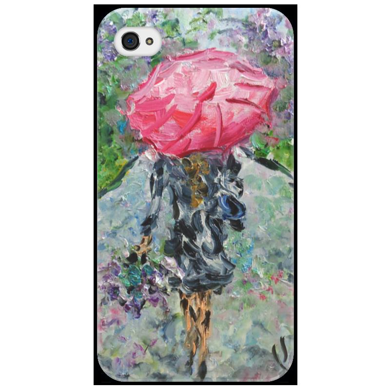 Чехол для iPhone 4/4S Printio Запах дождя никита павлов картина новгород дождь