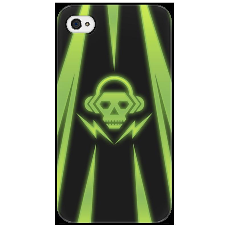Чехол для iPhone 4/4S Printio Skull чехол для iphone 4 4s printio цветочный череп