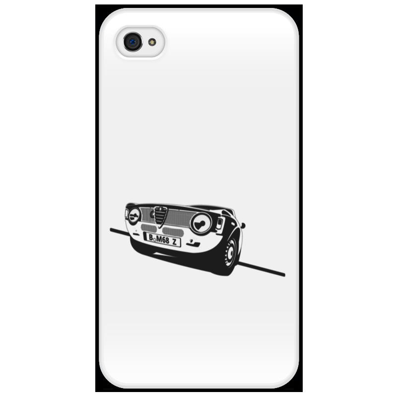Чехол для iPhone 4/4S Printio Retro alfa romeo racing наклейки tony 2 74 alfa romeo mito 147 156 159 166 giulietta gt