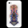 """Чехол для iPhone 4/4S """"Легенды майя"""" - оригинально, креативно"""