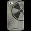 "Чехол для iPhone 4/4S ""Логотип-трафарет"" - сталкер, тёмная душа"