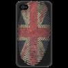 "Чехол для iPhone 4/4S ""Чехол для Iphone 4/4s с британским флагом."" - чехол с британским флагом, британский флаг чехол iphone"