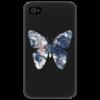 """Чехол для iPhone 4/4S """"Earthfly (4/4s)"""" - арт, популярные, оригинально"""