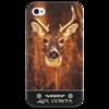 """Чехол для iPhone 4/4S """"Дух Севера"""" - природа, олень, путь воина, норды, дух севера"""