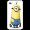 """Чехол для iPhone 4/4S """" Миньон"""" - прикольно, арт, девушка, юмор, смешные, приколы, смешное, стиль, iphone, популярные"""