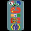 "Чехол для iPhone 4/4S ""BRICS - БРИКС"" - россия, китай, индия, бразилия, юар"