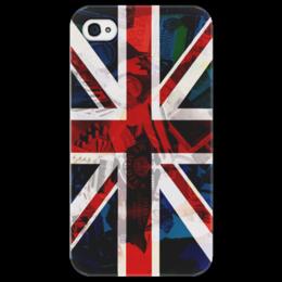 "Чехол для iPhone 4/4S ""Флаг UK"" - арт, стиль, лондон, флаг, flag, креативно, england, uk, великобритания"