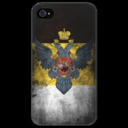 """Чехол для iPhone 4/4S """"Винтажный чехол для iPhone 4/4s Российская Империя"""" - россия, винтаж, империя"""