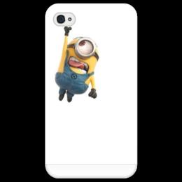"""Чехол для iPhone 4/4S """"Гадкий я"""" - миньон, гадкий я, despicable me"""