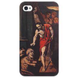 "Чехол для iPhone 4/4S ""Christ in Limbo"" - картина, сезанн"