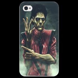 "Чехол для iPhone 4/4S ""Art man"" - michael jackson, thriller, триллер"