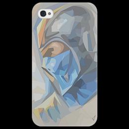 "Чехол для iPhone 4/4S ""Sub-Zero (Mortal Kombat)"" - игры, mortal kombat, саб зиро, мортал комбат, sub-zero"