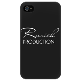 "Чехол для iPhone 4/4S ""Rusich PRODUCTION"" - rus14, rusich production"
