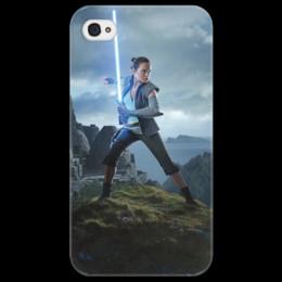 """Чехол для iPhone 4/4S """"Звездные войны - Рей"""" - звездные войны, фантастика, кино, дарт вейдер, star wars"""