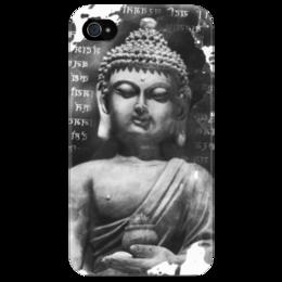 """Чехол для iPhone 4/4S """"Будда (Письмена)"""" - философия, религия, будда, буддизм, духовность"""