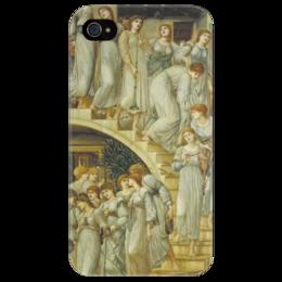 "Чехол для iPhone 4/4S ""Золотая лестница (The Golden Stairs)"" - картина, бёрн-джонс"