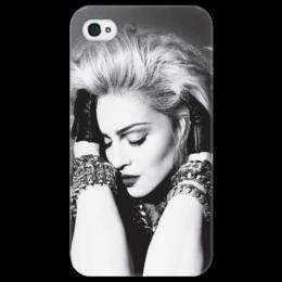 """Чехол для iPhone 4/4S """"Madonna"""" - поп, pop, madonna, мадонна"""